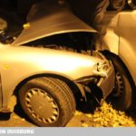 DU: Obermeiderich: Gegen geparkte Wagen geprallt und geflüchtet
